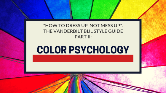 color psychology, how to combine colors when getting dressed, fashion psychology